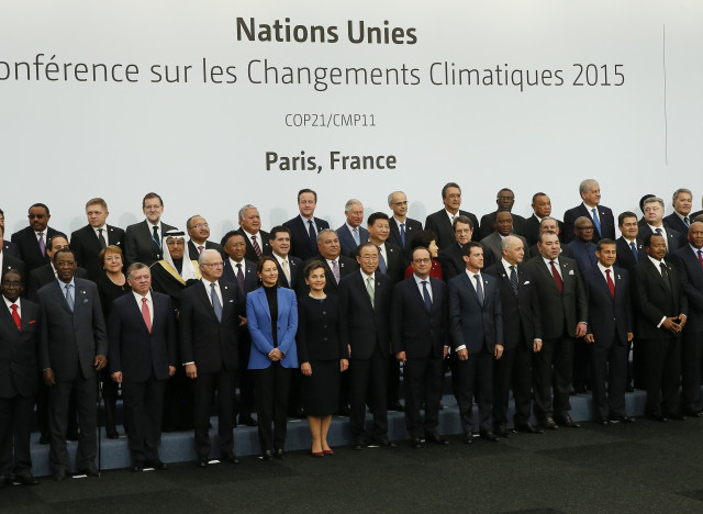 cop21 group photo