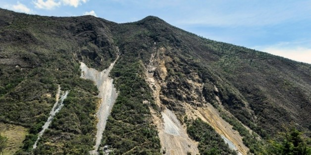 La mine d'or éthique El Corte à La Llanada, en Colombie, le 20 octobre 2015