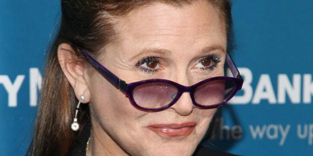 Für ihre Rolle in Star Wars musste Carrie Fisher abspecken.