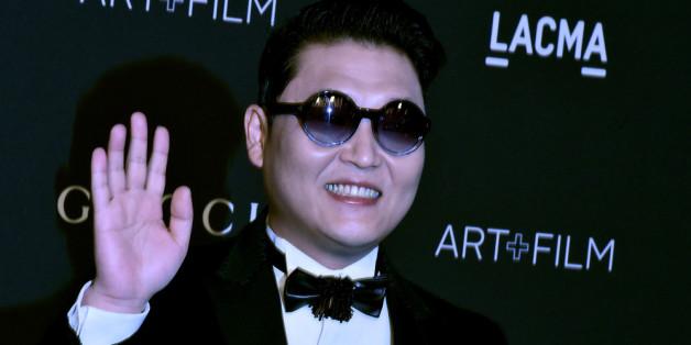 """Sein Tanzstil in """"Gangnam Style"""" machte Psy weltweit berühmt"""