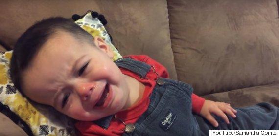 adele crying toddler