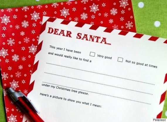 Letter To Santa Templates 16 Free Printable Letters For Kids Send Father Christmas