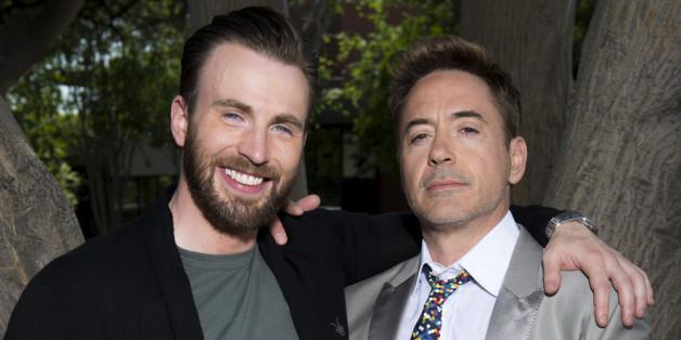 "Chris Evans kämpft im dritten Teil von ""Captain America"" gegen Robert Downey Jr."