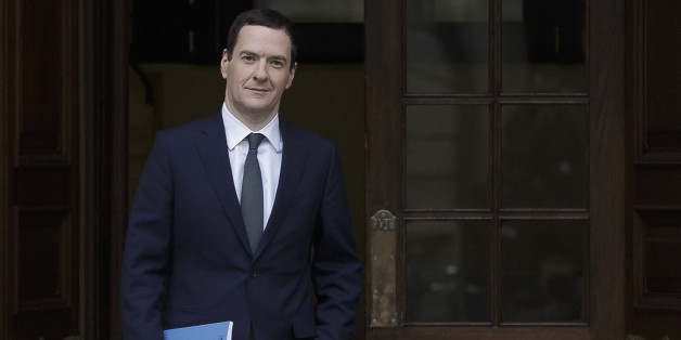 Britain's Chancellor of the Exchequer George Osborne leaves the Treasury for the House of Commons to deliver the his Autumn statement, in London, Wednesday Nov. 25, 2015. (AP Photo/Tim Ireland, Pool)