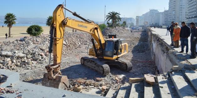 Tanger: Les boîtes de nuit de la corniche ont laissé placé aux bulldozers