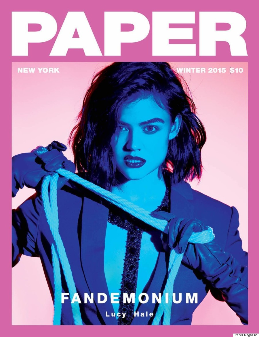 lucy hale paper magazine