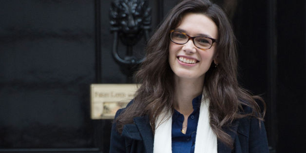 Model Rosie Nelson delivers a 100K signature petition to Downing Street signed by more than 113,000 people who want to see young people protected from being pressurised into becoming dangerously thin to meet industry requirements, ahead of a Parliamentary inquiry by the APPG into the fashion industry.
