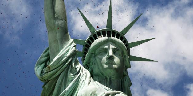Die Freiheitsstatue in New York ist wahrscheinlich Muslimin