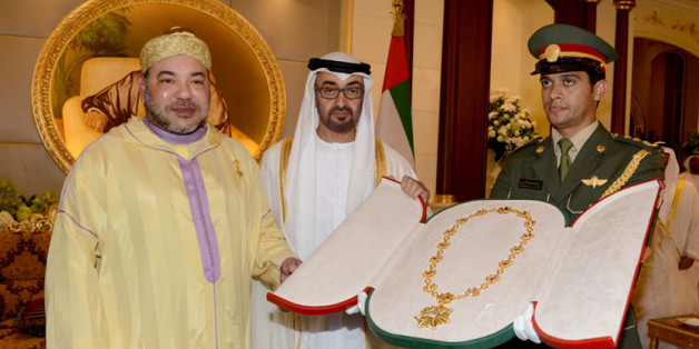Nouvelle visite du roi au Emirats arabes unis