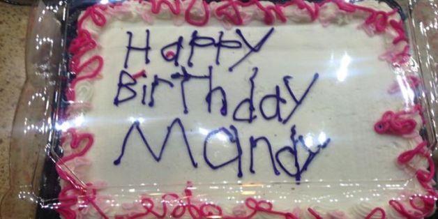 So sah die fertige Torte aus.