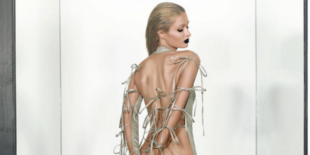Paris Hiltons Bilder für das Papermagazine haben es in sich.