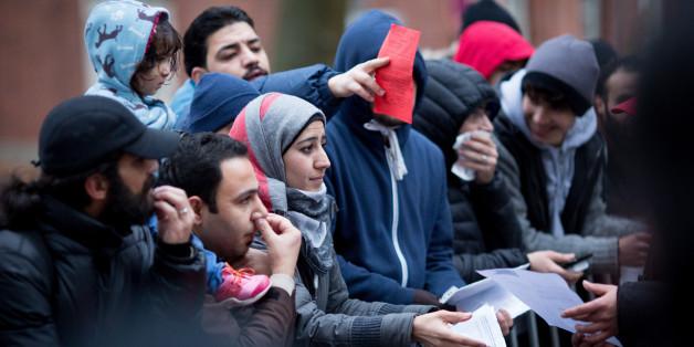 Juristische Maßnahmen gegen Flüchtlinge in Hamburg.