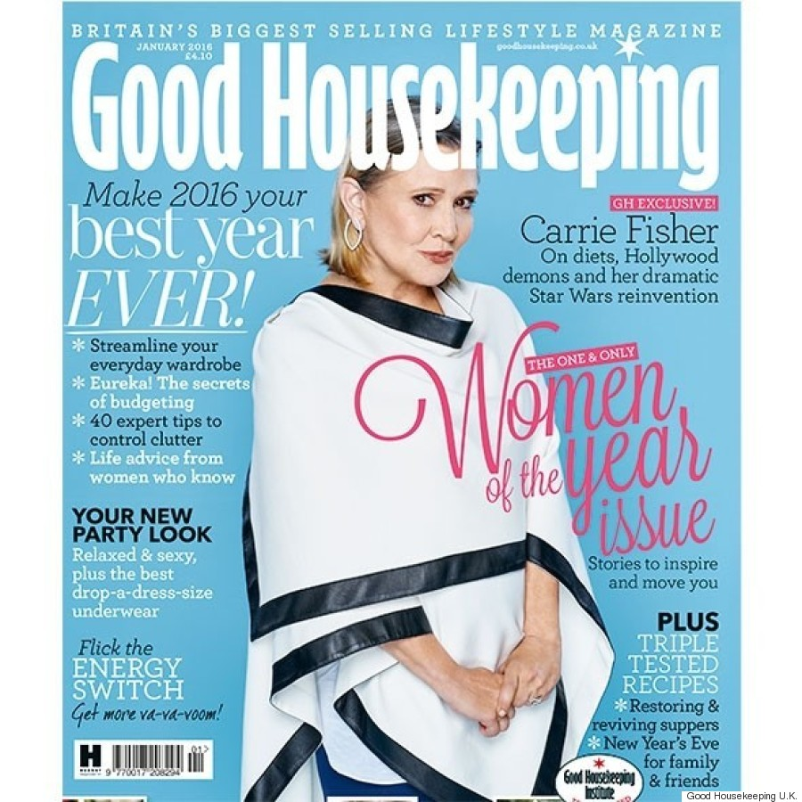 carrie fisher good housekeeping