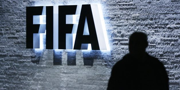 The FIFA logo at the headquarters Zurich, Switzerland, on Monday Oct. 29, 2007. FIFA's executive committee voted unanimously to end its policy of rotating the hosting of World Cups through its six continental confederations.  (AP Photo/Keystone, Steffen Schmidt)