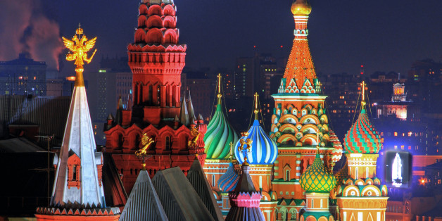 Russia Russland Moscow Moskau night Nacht red square roter Platz kremlin federation Moskovskiy Kreml Saint Basil's Cathedral State Historical Museum