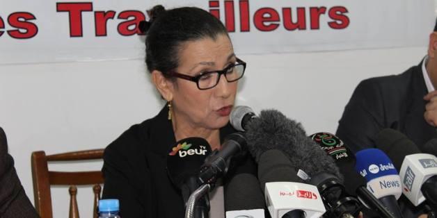 "Louisa Hanoune dit ""Bismillah"" et ""chiche"" à Saadani"