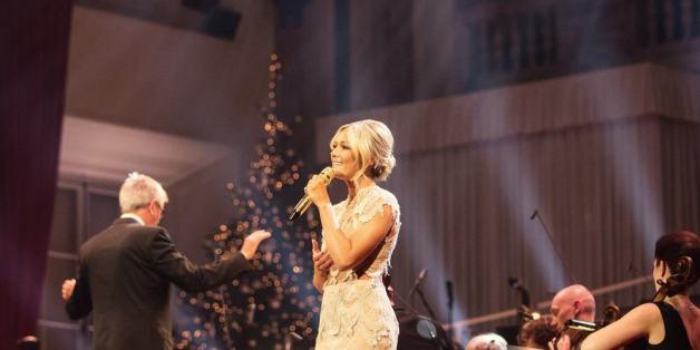 Helene Fischer ist nicht nur ein Hingucker auf der Bühne, sie hat auch eine tolle Stimme.
