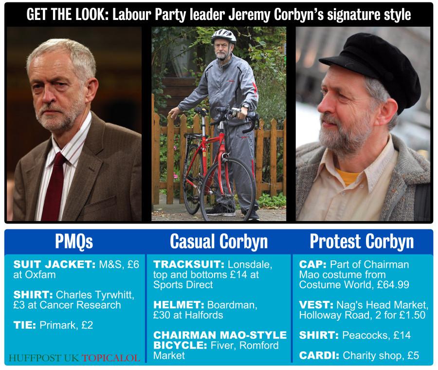 jeremy corbyn style fashion
