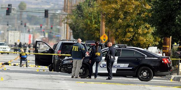 Das Fluchtfahrzeug nach der Schießerei in San Bernardino