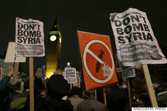 uk syria