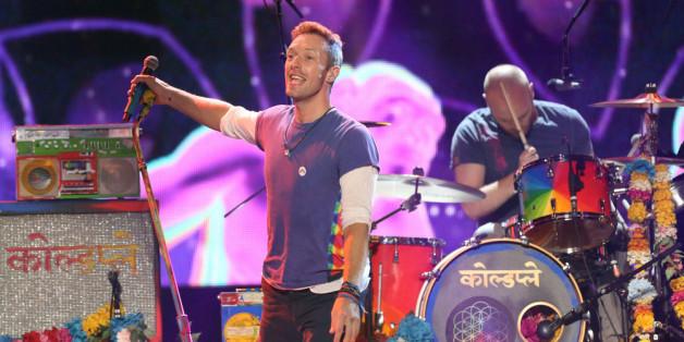Die britische Band Coldplay darf eine der größten Musik-Shows der Welt ausrichten