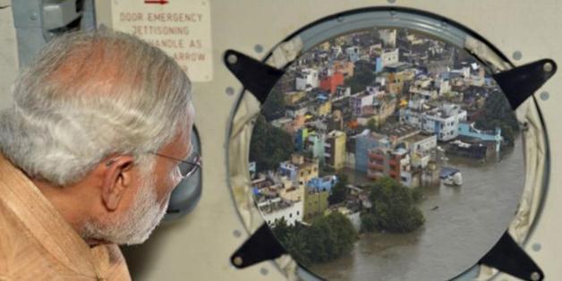 Le premier ministre indien épinglé pour ce photomontage grossier