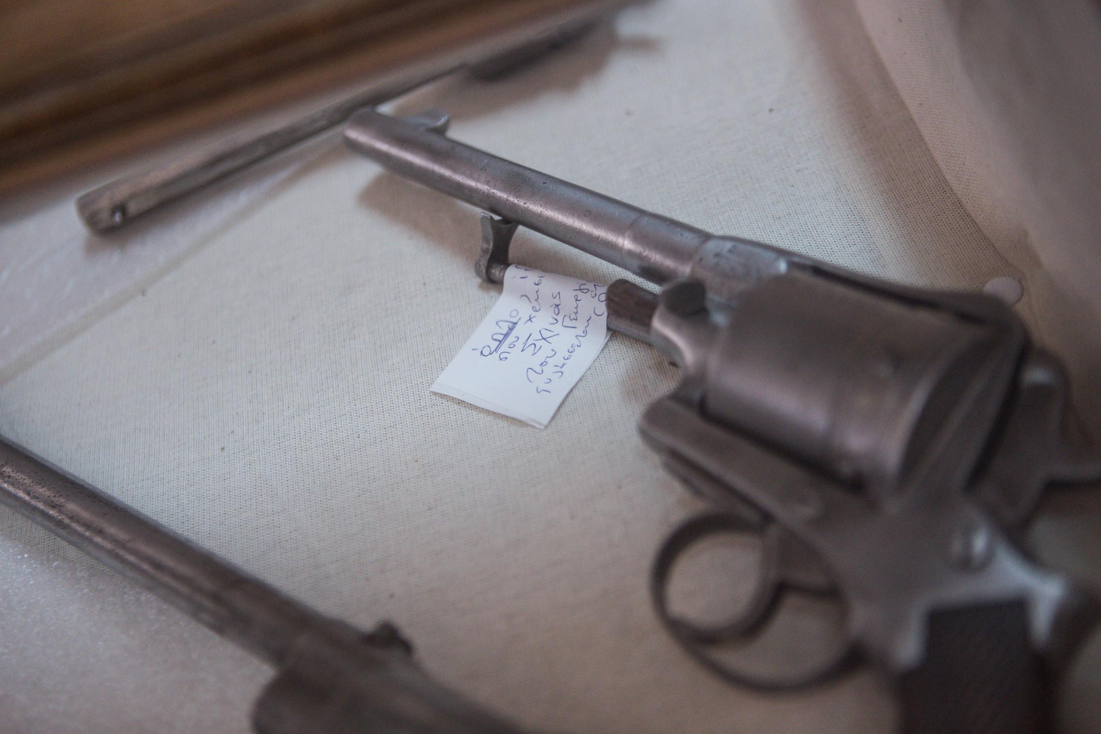 pistoli sxoina