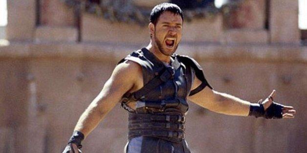 "Russell Crowe (ici dans le film ""Gladiator"") sera en tournage au Maroc en 2016"