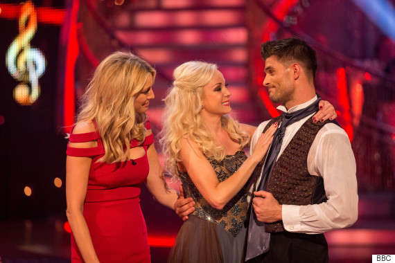 helen george strictly voted off