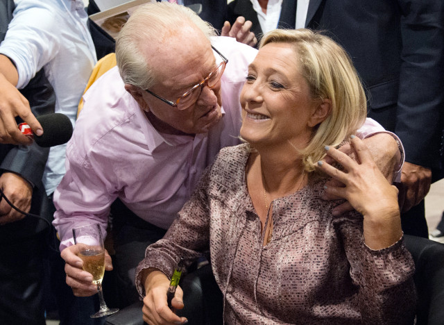 lepen father and daughter