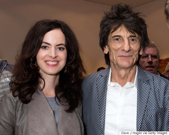 ronnie wood sally