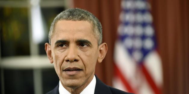 Barack Obama während seiner gestrigen Ansprache