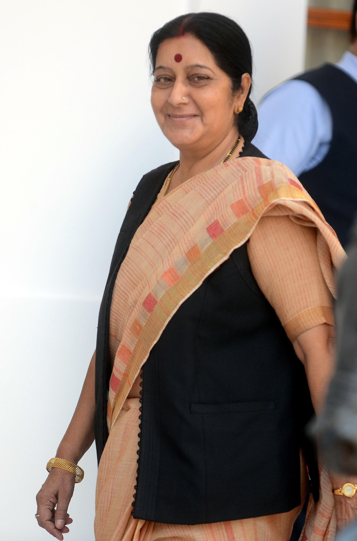 sushma swaraj nawaz sharif