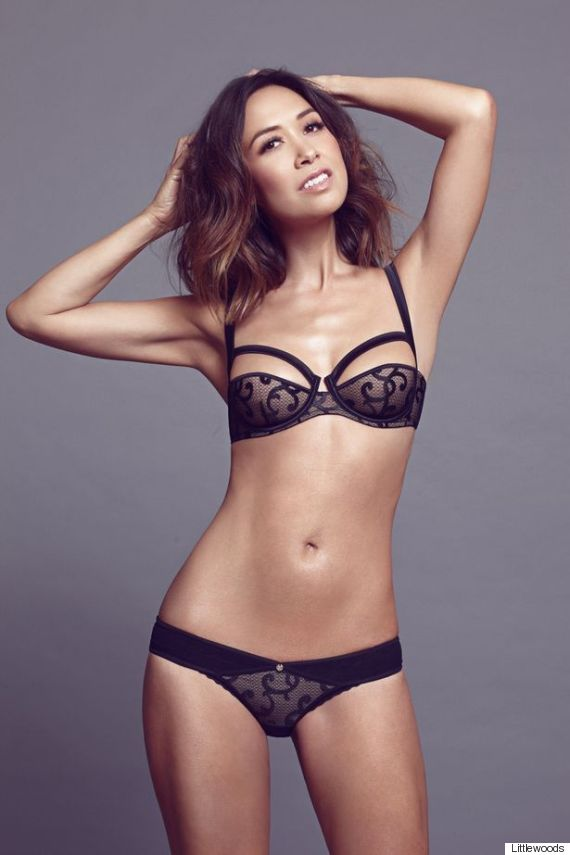Hot black girls lingerie