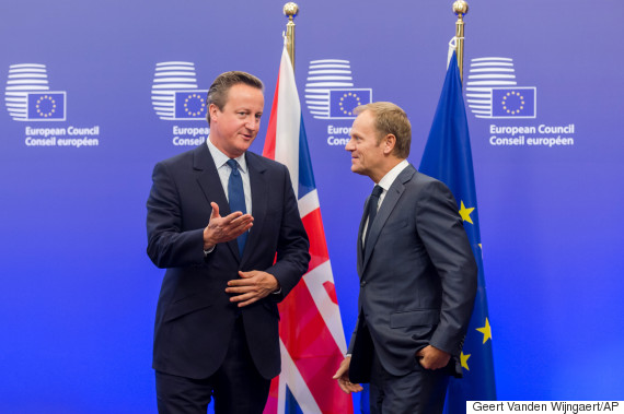 donald tusk david cameron
