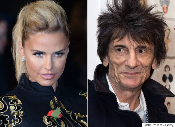 katie price ronnie wood