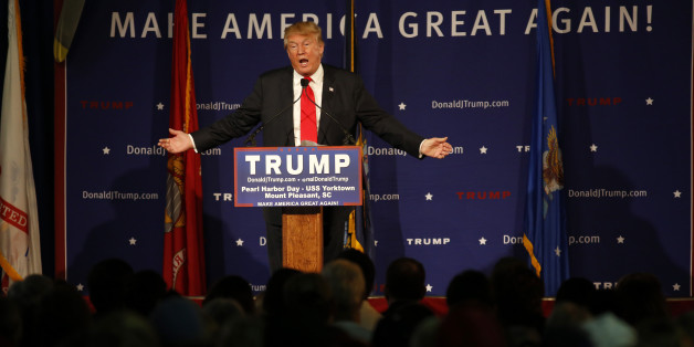 Republican presidential candidate, businessman Donald Trump