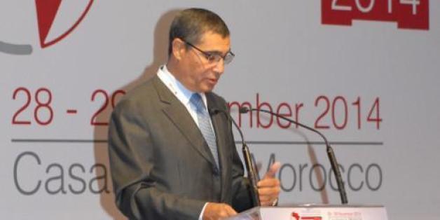 Saïd Ibrahimi, directeur de Casablanca Finance City, lors de la première édition des Casablanca Arbitration Days
