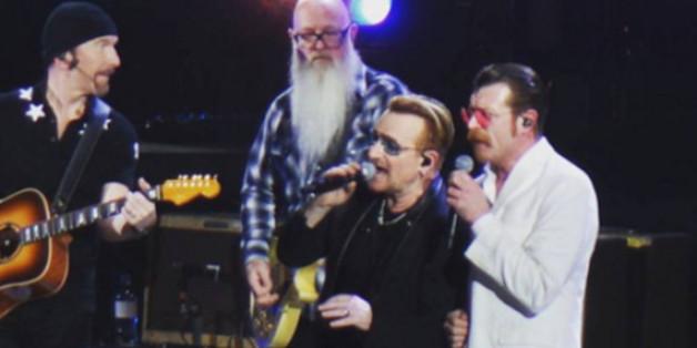Die Eagles of Death Metal bedankten sich auch auf Facebook für den gemeinsamen Auftritt mit U2 in Paris.