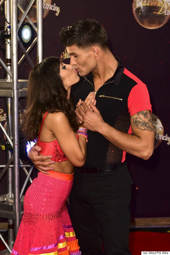 janette manrara aljaz strictly