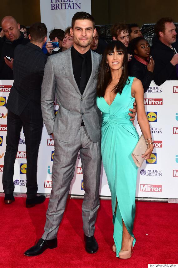 Strictly Come Dancing Couple Janette Manrara And Aljaz Skorjanec