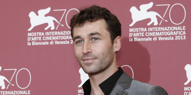 Actor James Deen poses for photographers at the photo call for the film The Canyons at the 70th edition of the Venice Film Festival held from Aug. 28 through Sept. 7, in Venice, Italy, Friday, Aug. 30, 2013. (AP Photo/David Azia)
