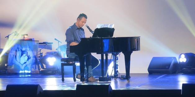 Étienne Drapeau en répétition