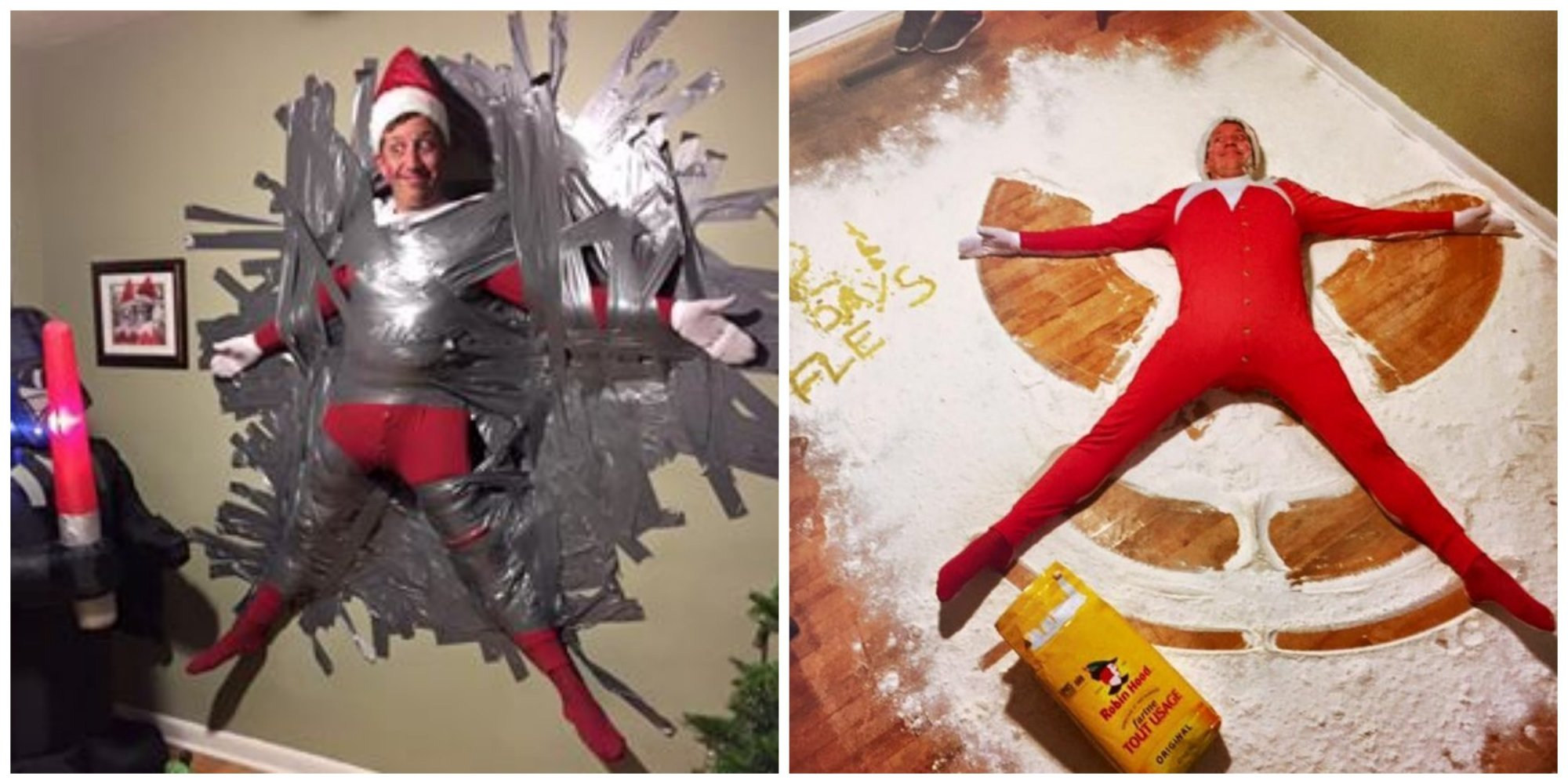 Dad Took Elf On The Shelf To A Terrifying New Level In