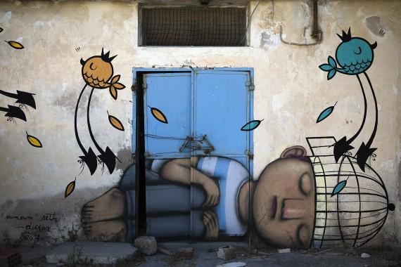 joel saget street art