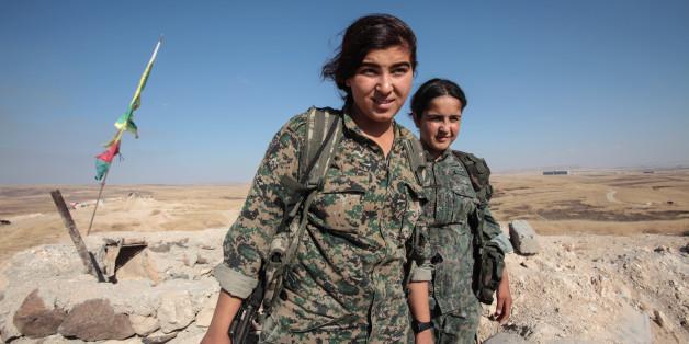 Vor diesen Kämpferinnen haben IS-Kämpfer panische Angst