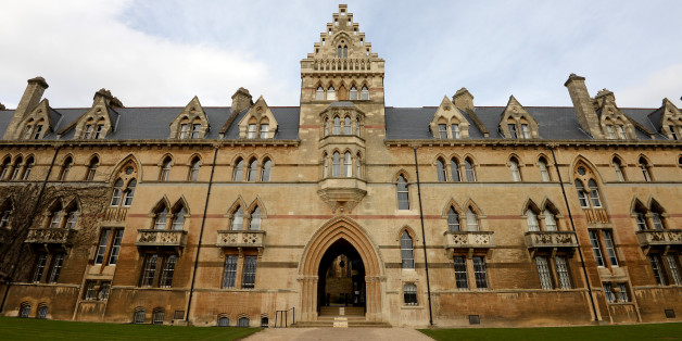 General view of the Meadow Building, part of Christ Church College, Oxford