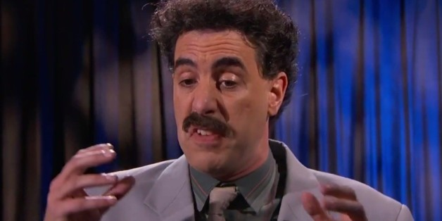 """He's a parody!"" - Borat mag bei ""Jimmy Kimmel Live"" kein gutes Haar an Donald Trump finden"