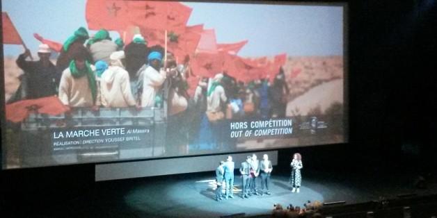"""FIFM 2015: Un tonnerre d'applaudissements pour """"La Marche Verte"""" de Youssef Britel"""