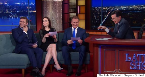 downton abbey the late show with stephen colbert